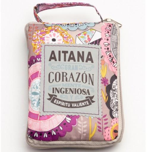 Bolsa con mensaje AITANA