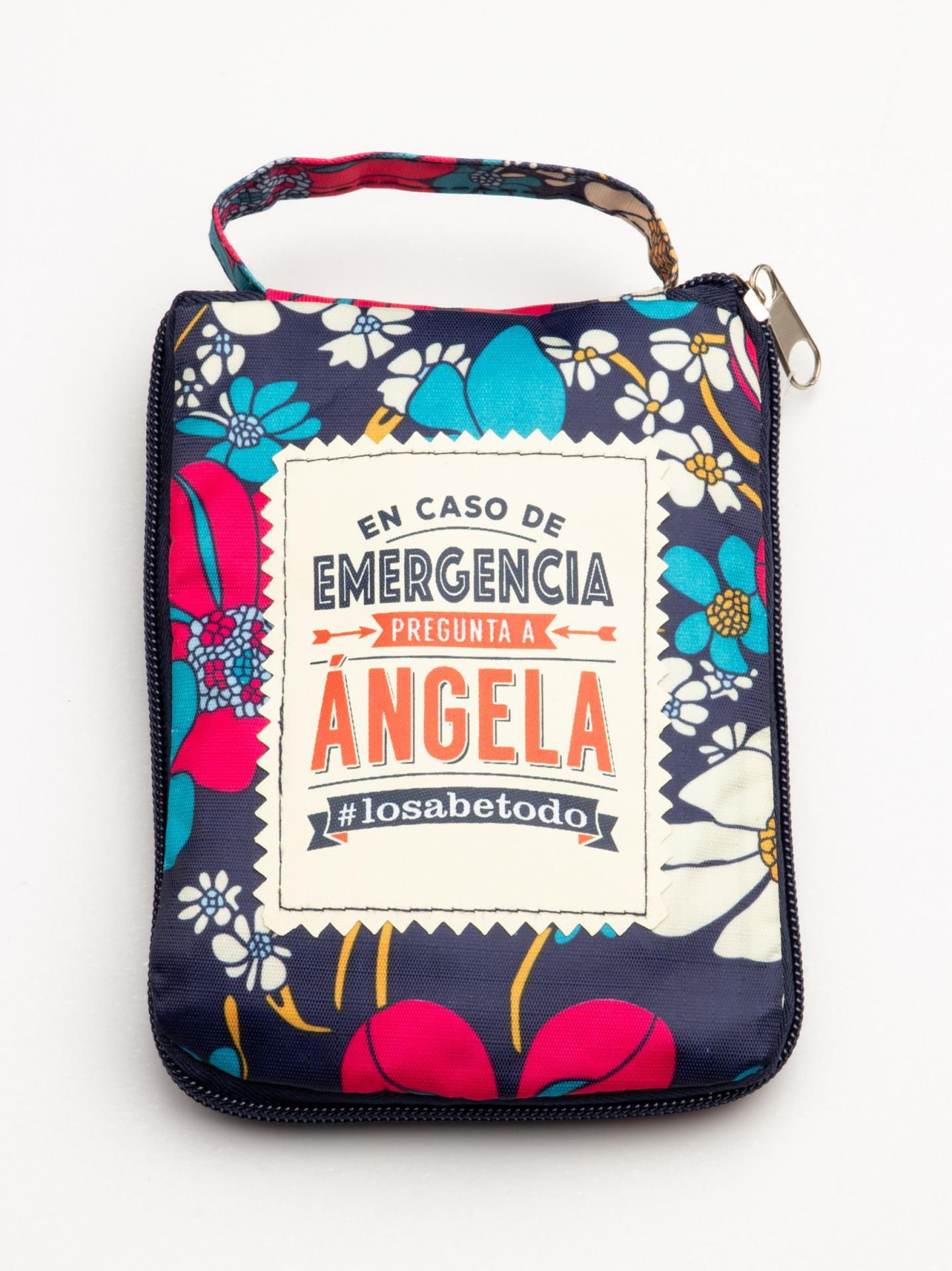 Bolsa con mensaje ANGELA