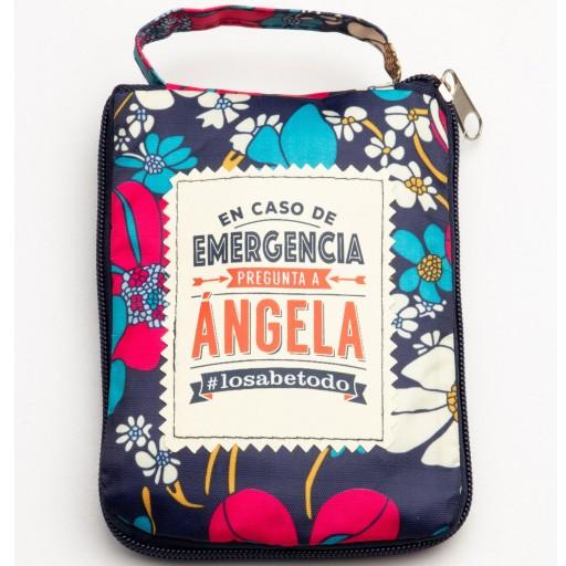 Bolsa con mensaje ANGELA [0]