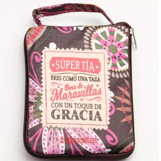 Bolsa con mensaje SUPER TIA