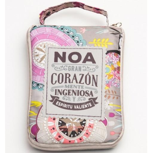 Bolsa con mensaje  NOA