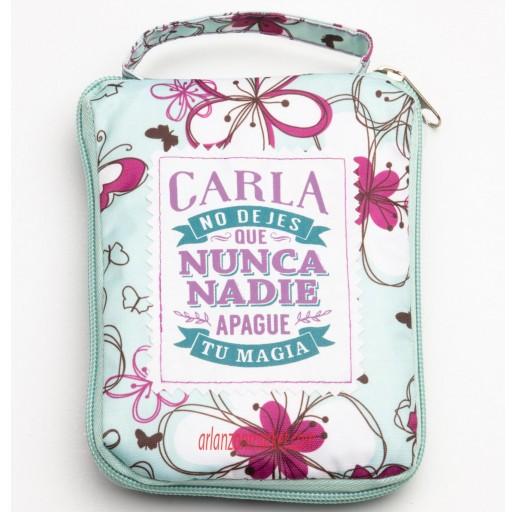 Bolsa con mensaje CARLA