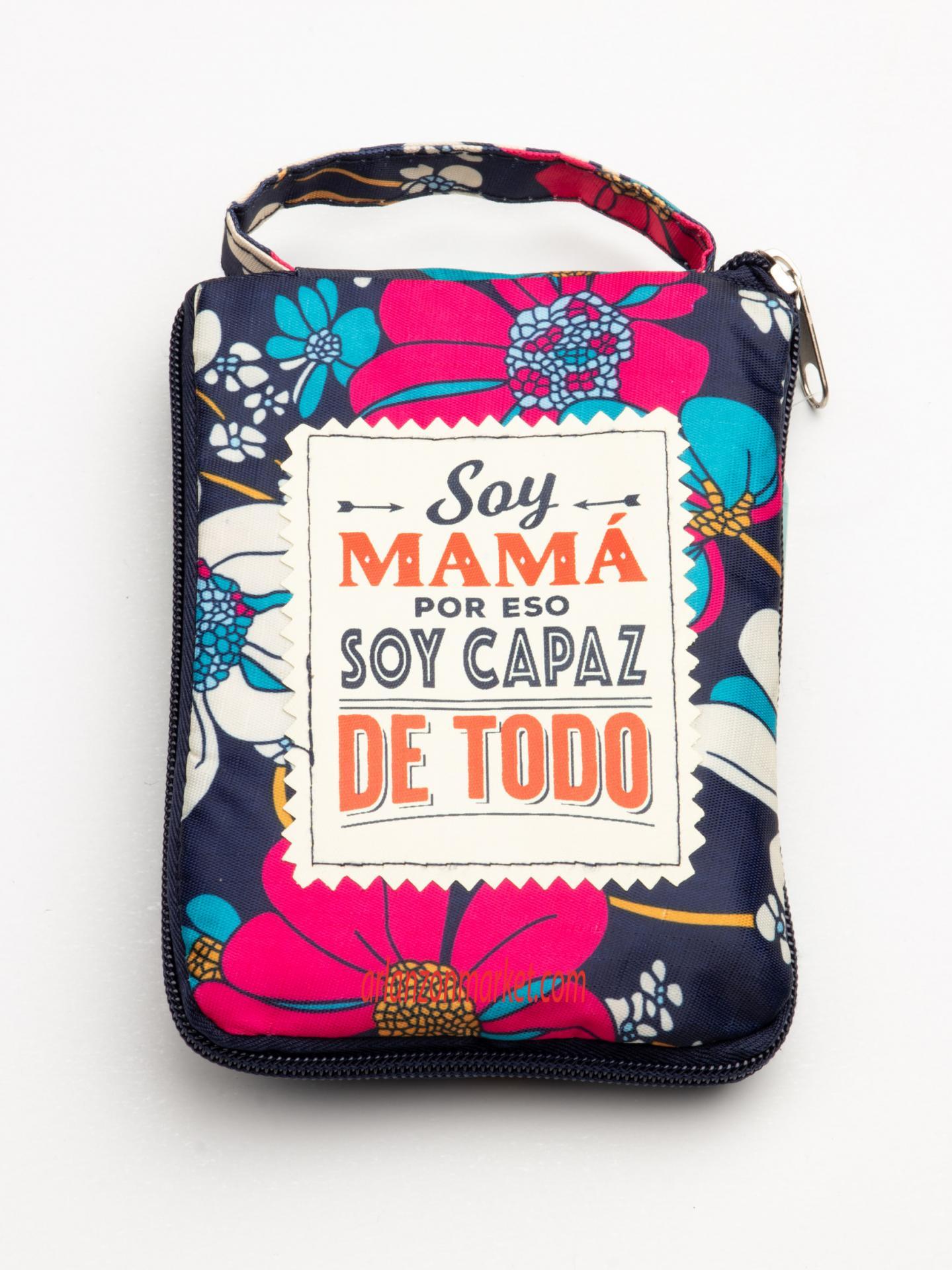 Bolsa con mensaje SOY MAMA