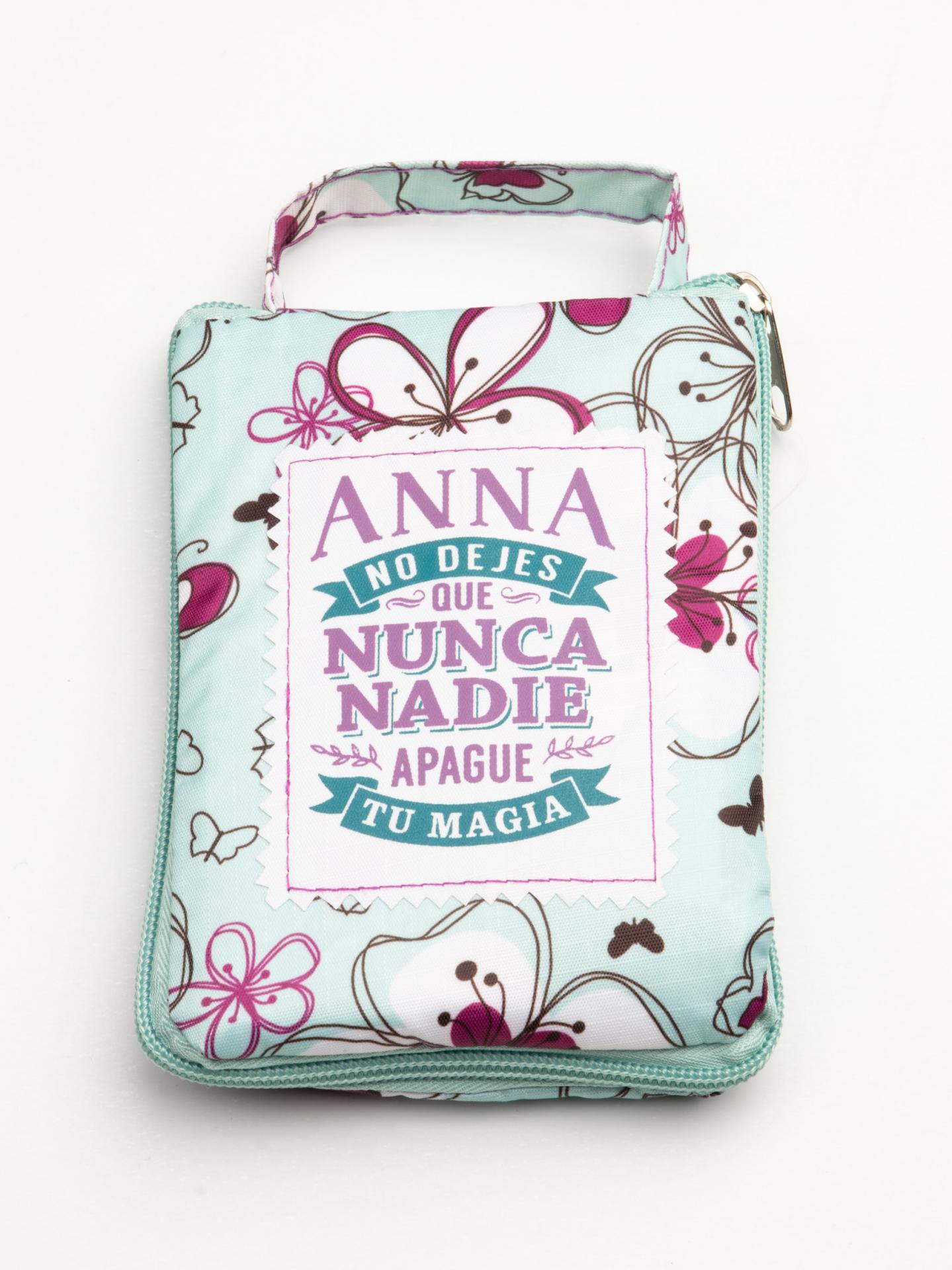 Bolsa con mensaje ANNA