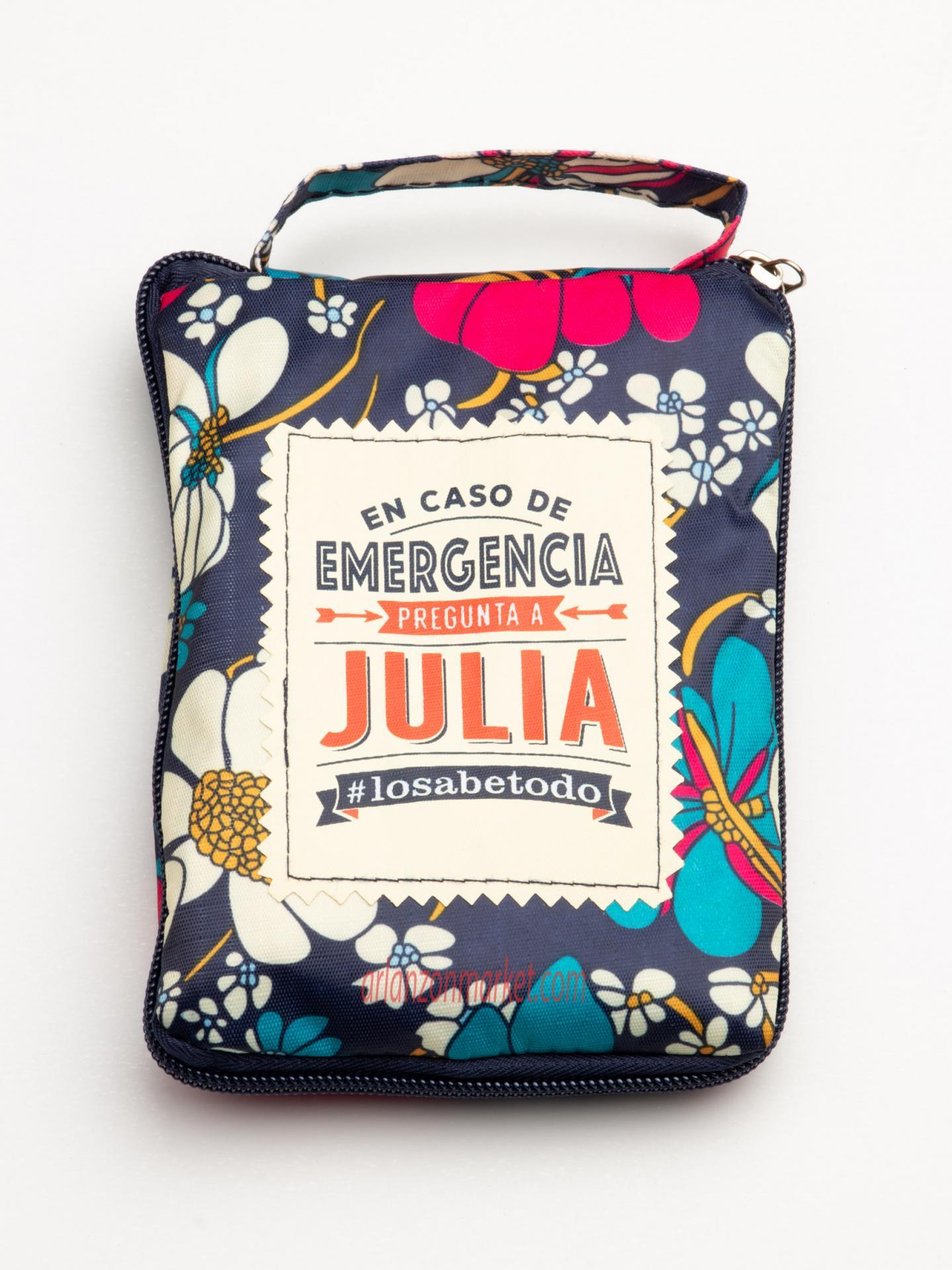 Bolsa con mensaje  JULIA