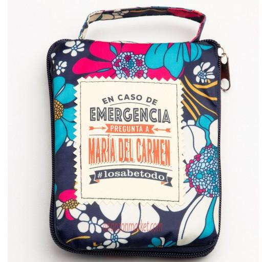 Bolsa con mensaje  MARIA DEL CARMEN
