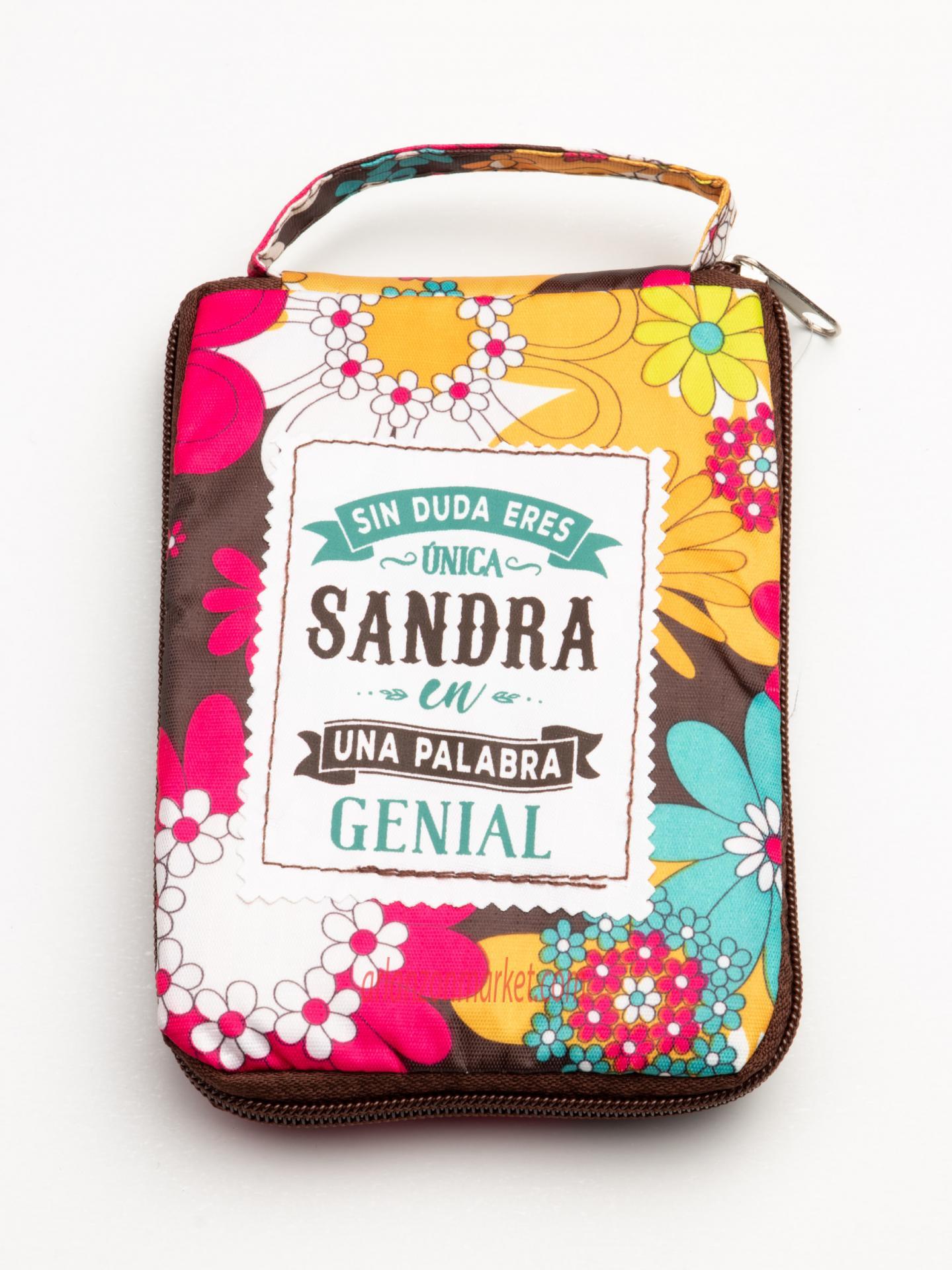 Bolsa con mensaje  SANDRA