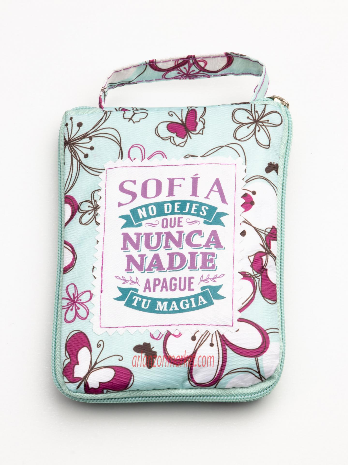 Bolsa con mensaje  SOFIA