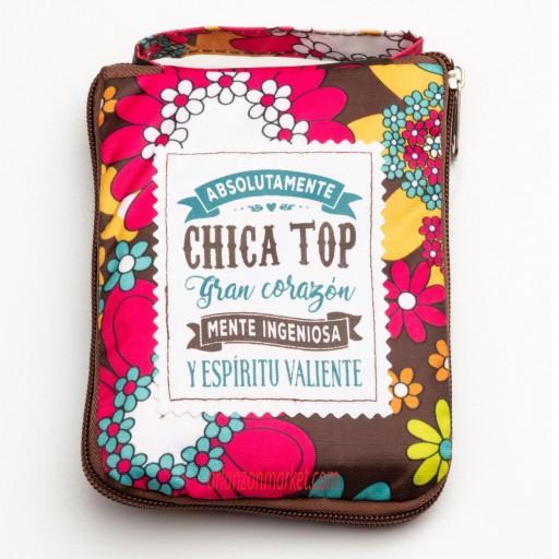Bolsa con mensaje  CHICA TOP