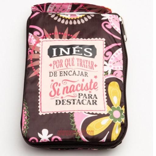 Bolsa con mensaje  INES
