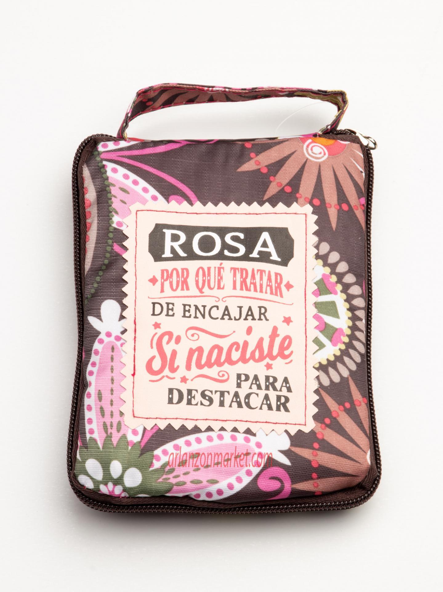 Bolsa con mensaje  ROSA