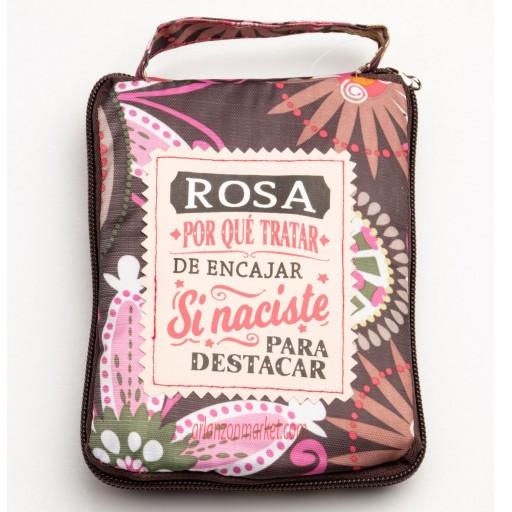 Bolsa con mensaje  ROSA [0]