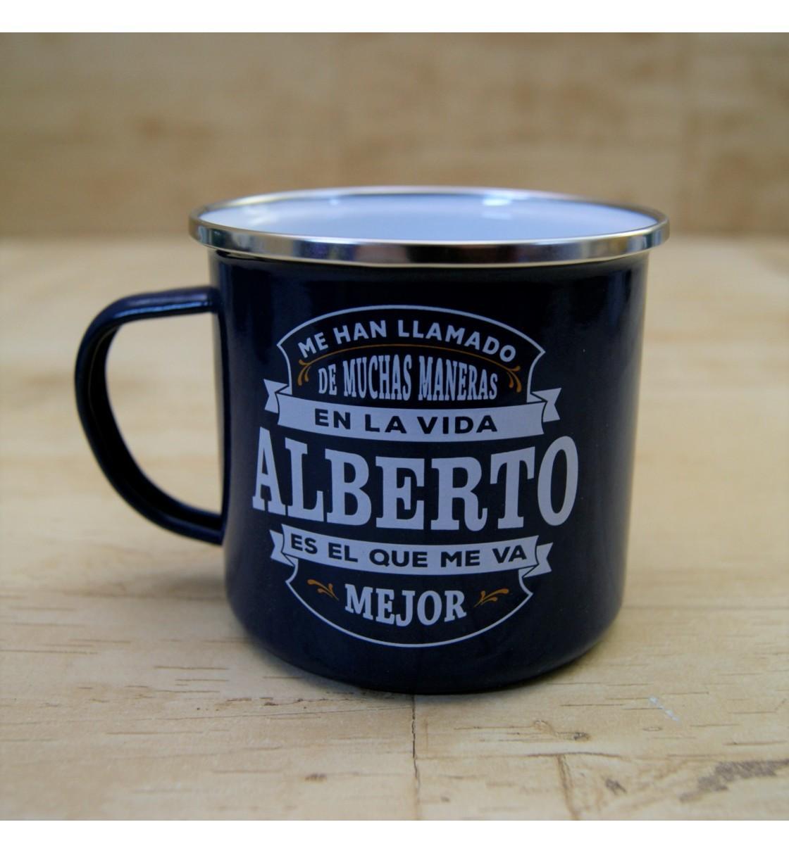 Taza vintage ALBERTO