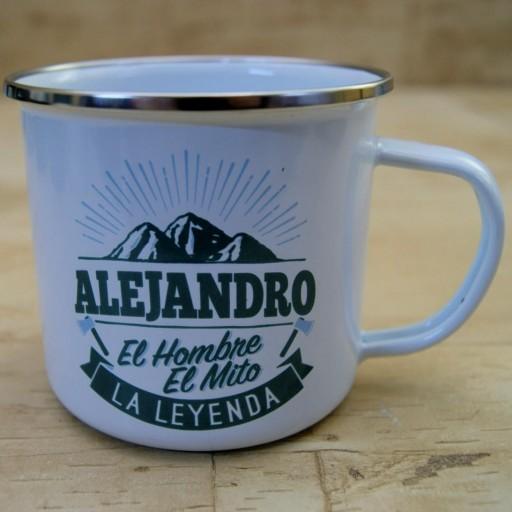 Taza vintage ALEJANDRO