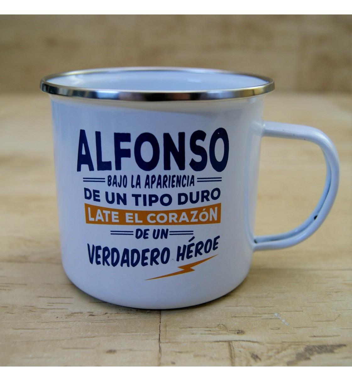 Taza vintage ALFONSO
