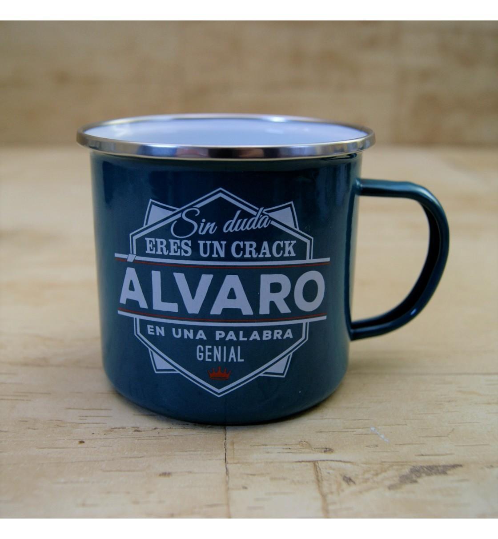 Taza vintage ALVARO