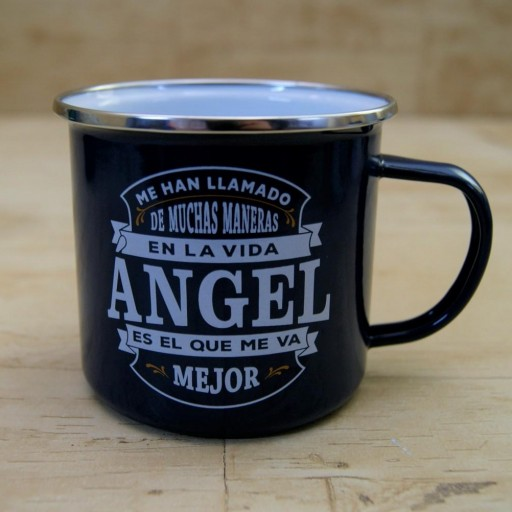Taza vintage ANGEL