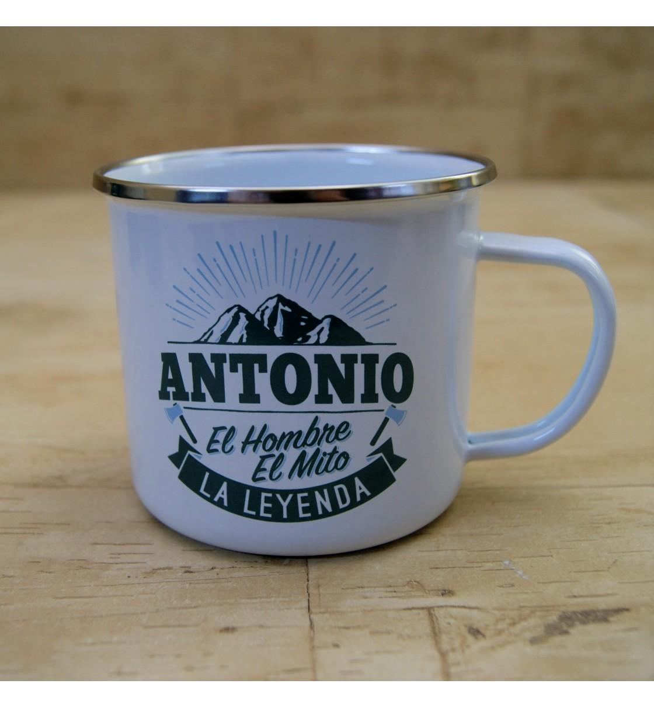 Taza vintage ANTONIO