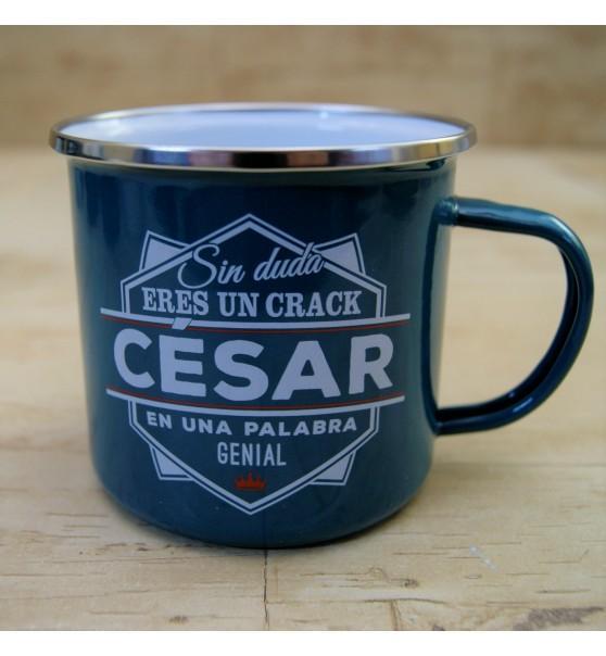Taza vintage CESAR