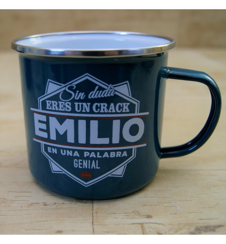 Taza vintage EMILIO
