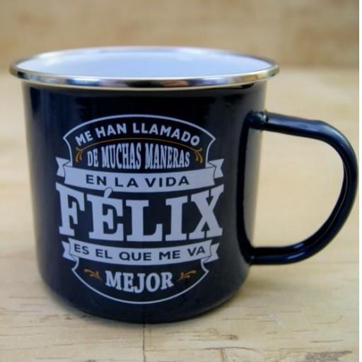 Taza vintage FELIX