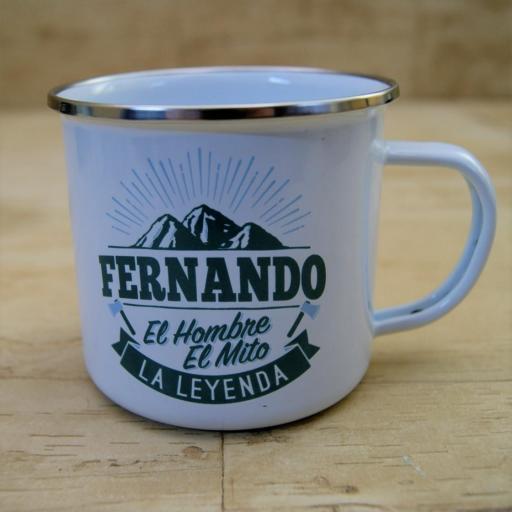 Taza vintage FERNANDO