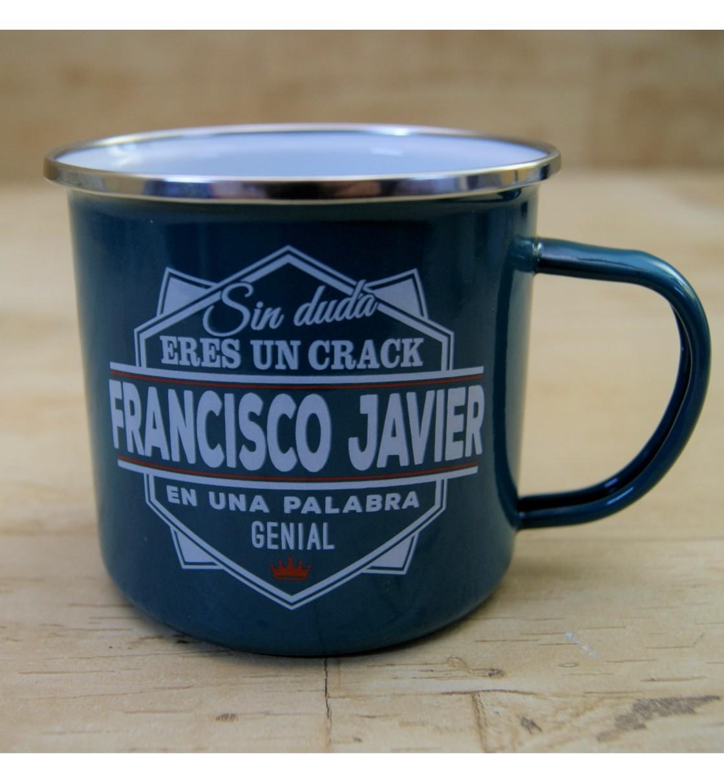 Taza vintage FRANCISCO JAVIER
