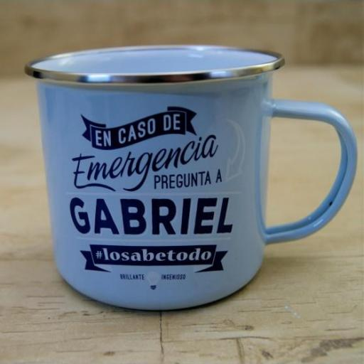 Taza vintage GABRIEL