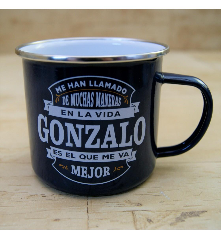 Taza vintage GONZALO