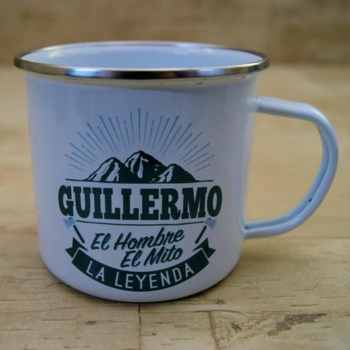 Taza vintage GUILLERMO