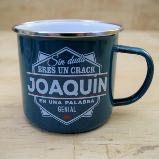 Taza vintage JOAQUIN