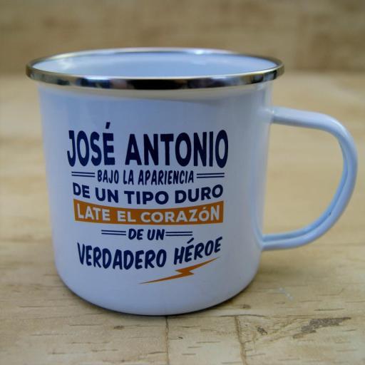 Taza vintage JOSÉ ANTONIO