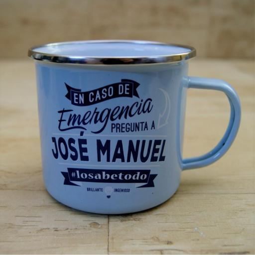 Taza vintage JOSE MANUEL