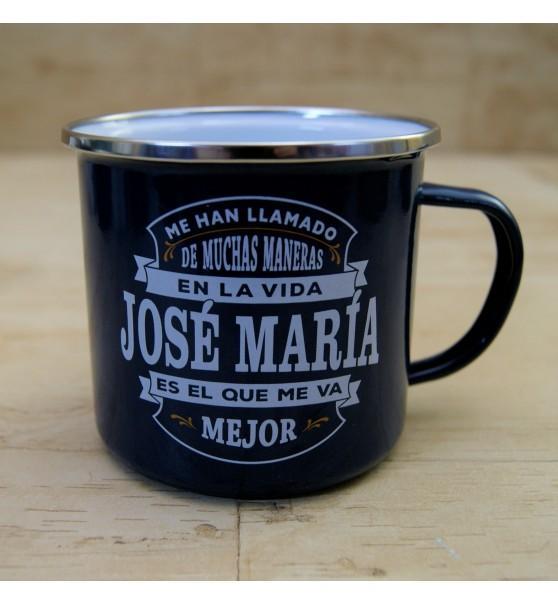 Taza vintage JOSÉ MARIA.