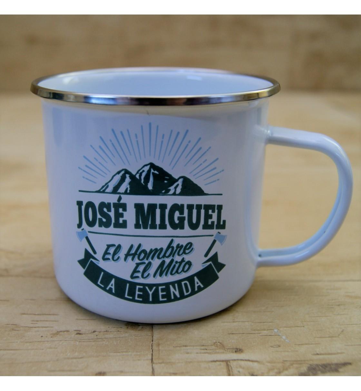 Taza vintage JOSÉ MIGUEL