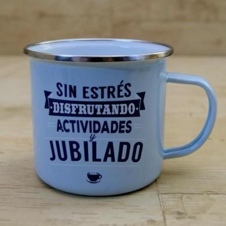 Taza vintage JUBILADO [0]
