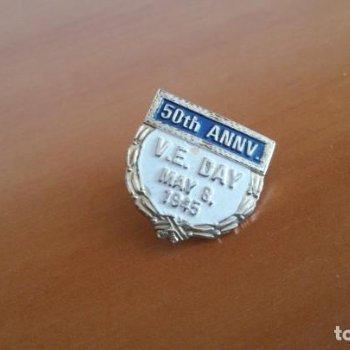 Pin VEDay, USA / WWII