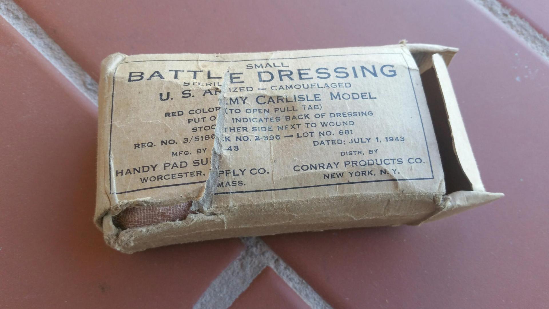 Accesorio Militar, USA / WWII