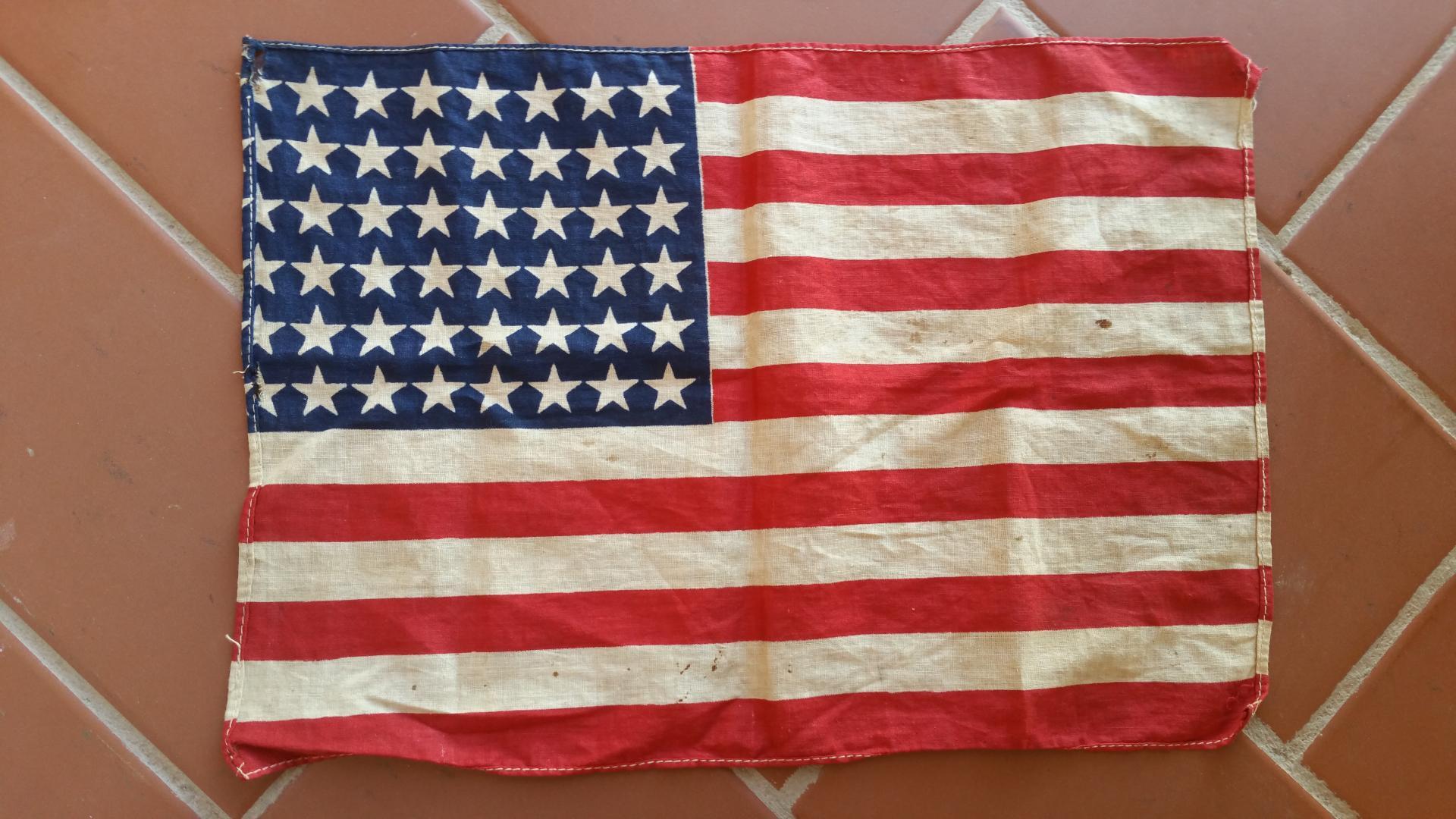 Bandera Nacional, USA / WWII
