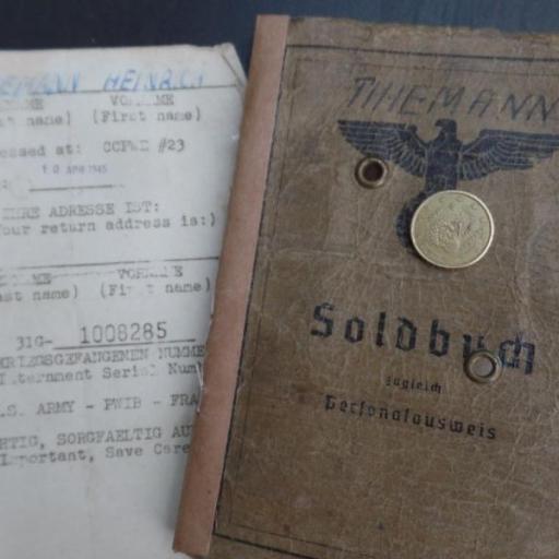 Documentos Personales, Alemania / WWII [1]