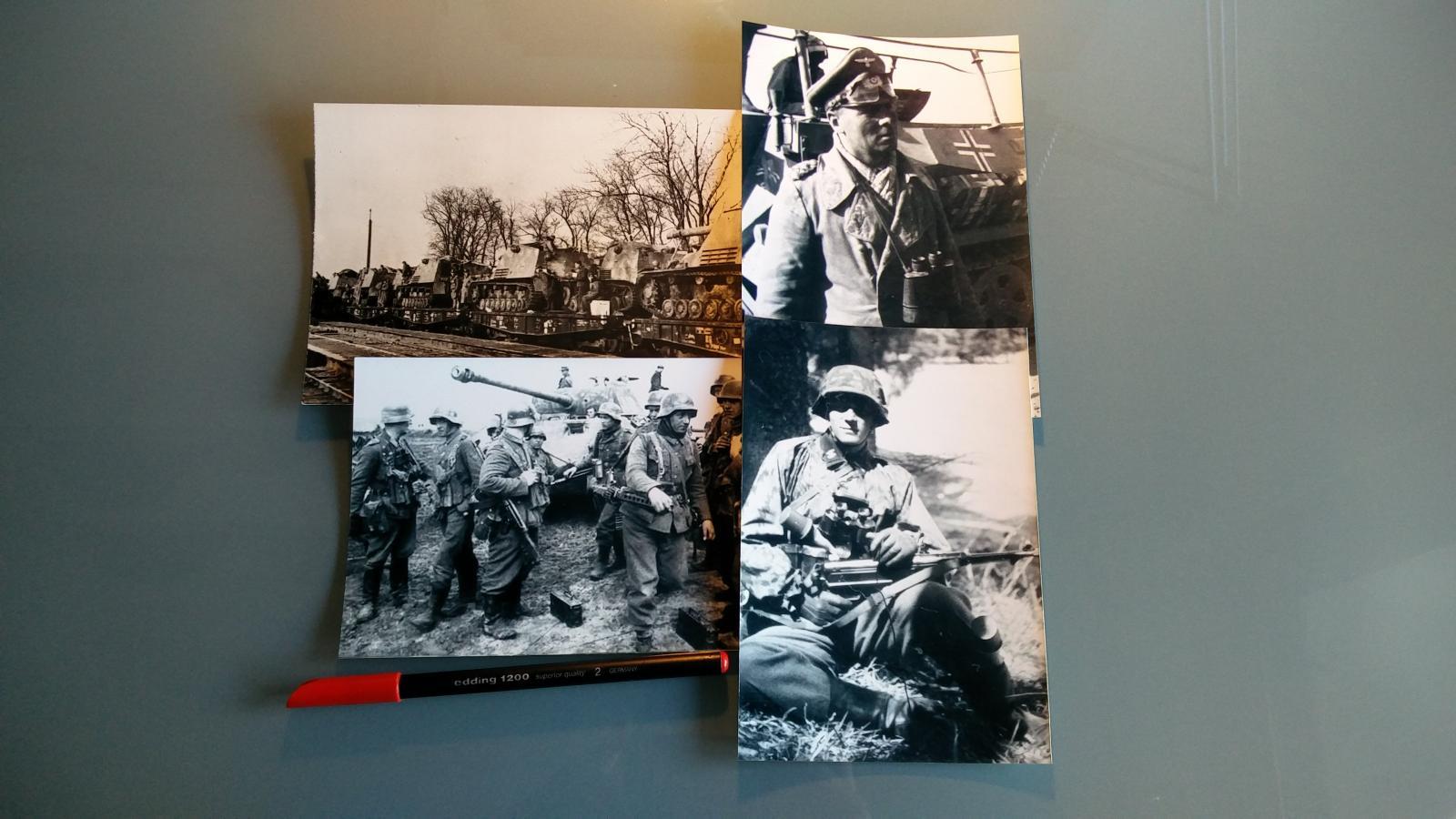 Lote 4 fotografías, Alemania / WWII