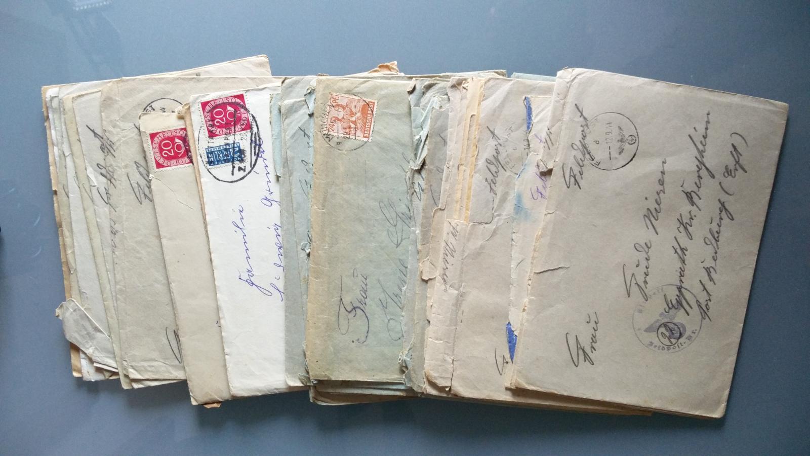Sobres de correo, Alemania / WWII