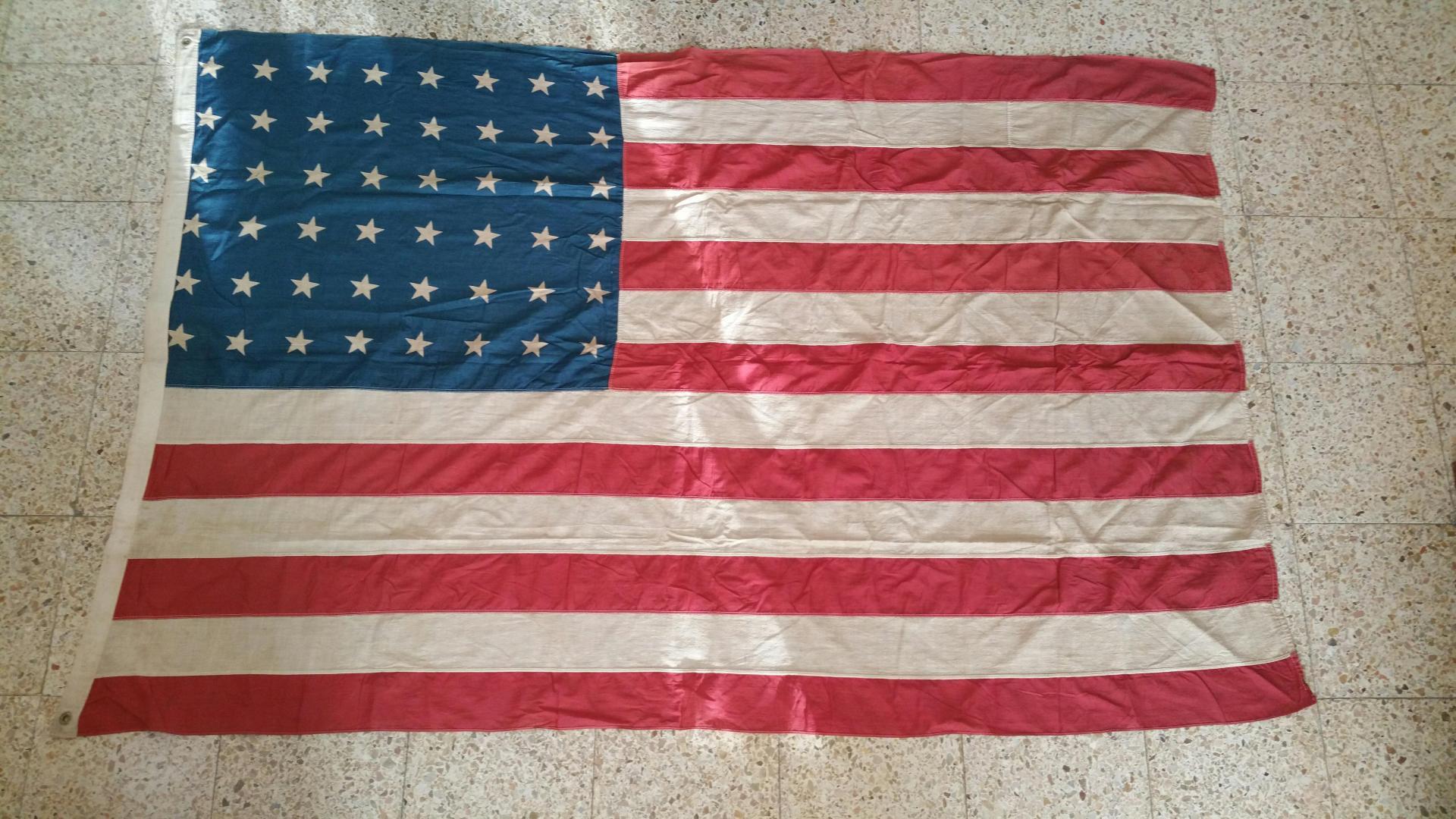Bandera Militar, USA / WWII