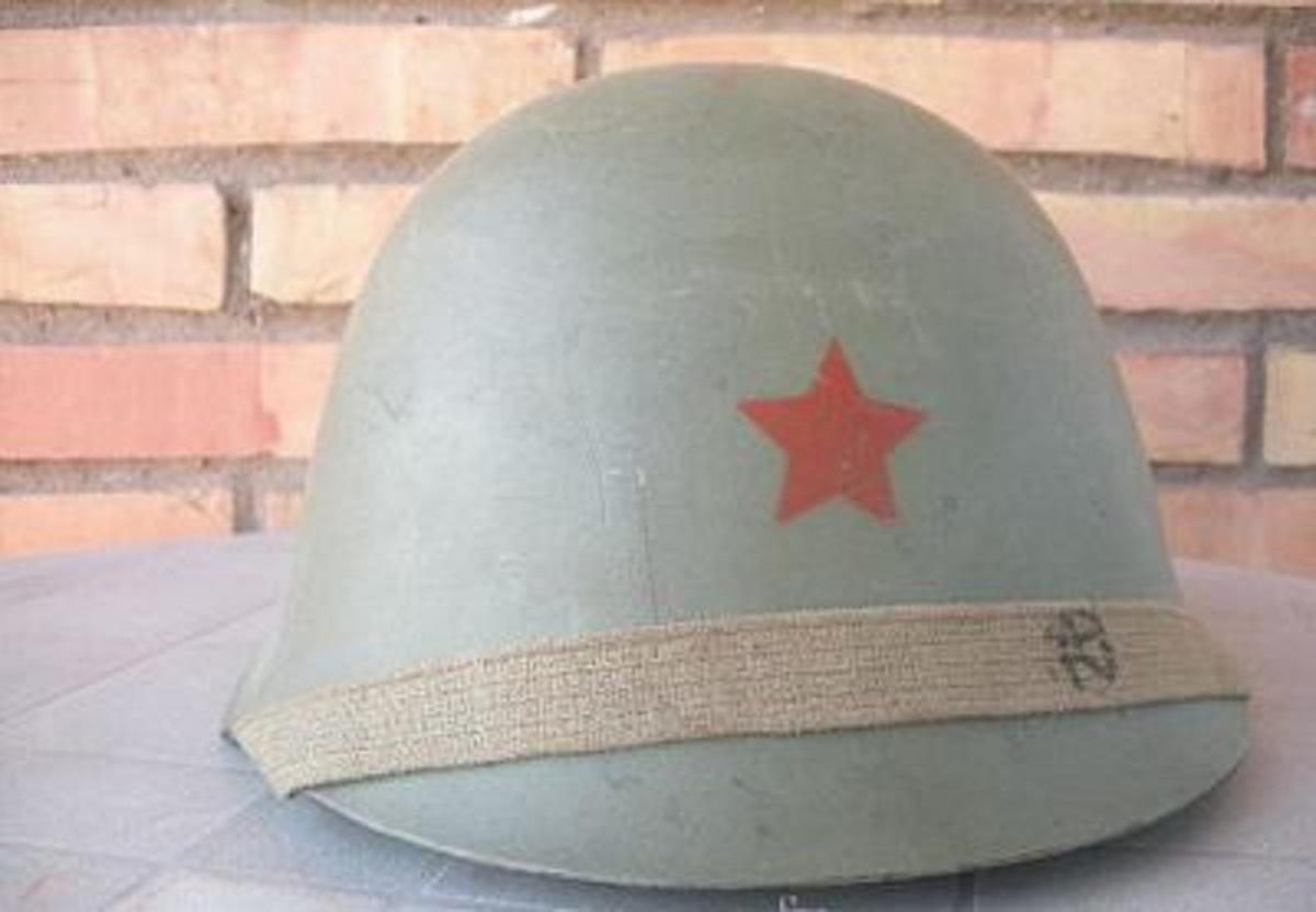 Casco Militar, Yugoslavia / Guerra Fría
