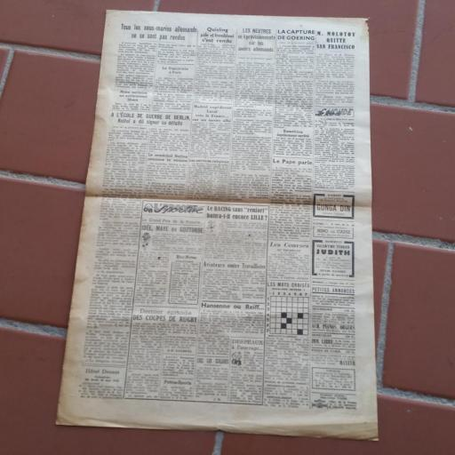 Documento Militar, Francia / WWII [2]