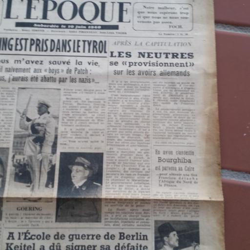 Documento Militar, Francia / WWII [1]