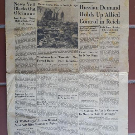 Periódico Militar, USA / WWII