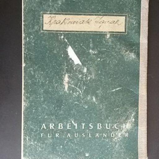 Arbeitsbuch für Ausländer, Alemania / WWII [1]