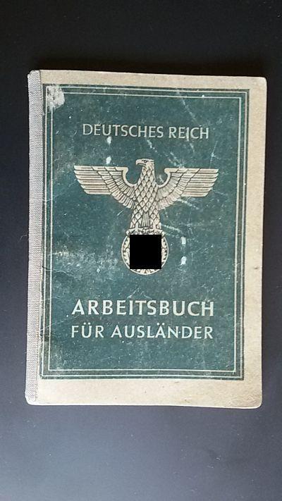 Arbeitsbuch für Ausländer, Alemania / WWII