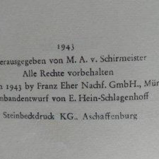 Libro Militar, Alemania / WWII [2]